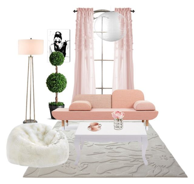 """""""Untitled #4"""" by roxi-ruzsa on Polyvore featuring interior, interiors, interior design, home, home decor, interior decorating, ESPRIT, Currey & Company and Oliver Gal Artist Co."""