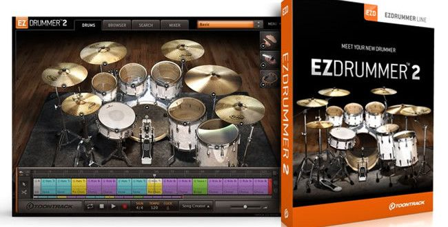 EZdrummer 2 Virtual Drums Instrument Software by ToonTrack | ProducerSpot http://www.producerspot.com/ezdrummer-2-virtual-drums-instrument-software-by-toontrack