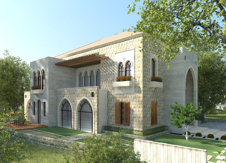 Traditional Lebanese Architecture Villa Aytat House Design Pictures House Outside Design House Design Photos Traditional lebanese house plan