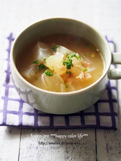 夏の定番★とろっとろ!冬瓜のスープ : トイロ 公式ブログ