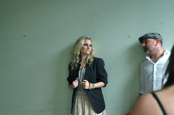 Behind the scenes w/ @LKISStyle modelling like a pro for the SWAP Team!