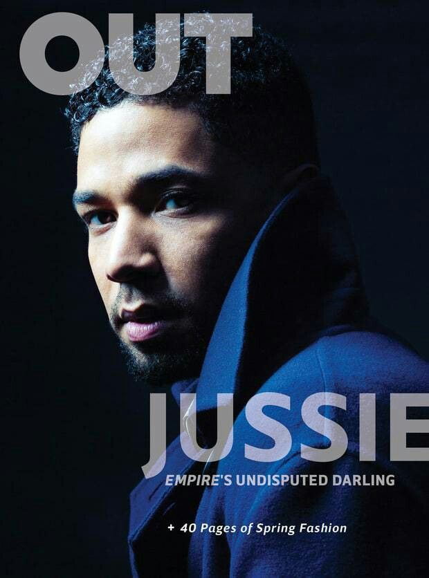"""From The Pages of OUT Magazine (@outmagazine)–Jussie Smollett (@jussiesmollett), """"'I Am a Gay Man. I Am a Gay Man. I Am a Gay Man"""" www.HeyMikeyATL.com #CelebrityNews #OUTMagazine #JussieSmollett #Empire #JamalLyon #actor #singer #cover #HeyMikeyATL #HeyMikeyATL #celebritynewsblogger #AtlantaBlogger written by @heymikeyatl #MichaelJFanning"""