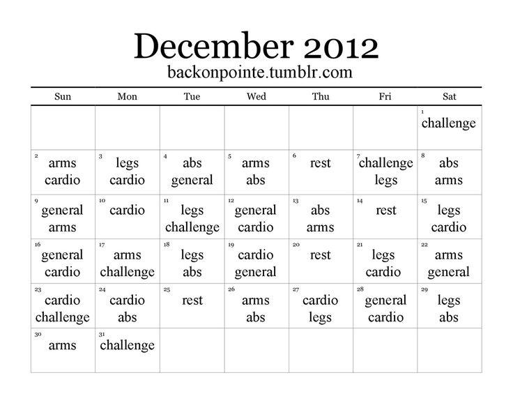 The 25+ best Fitness calendar ideas on Pinterest Workout - workout calendar