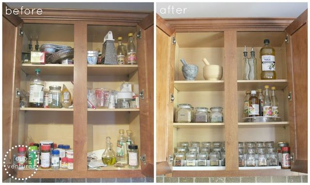 Duo Ventures: Organizing: The Spice Cabinet