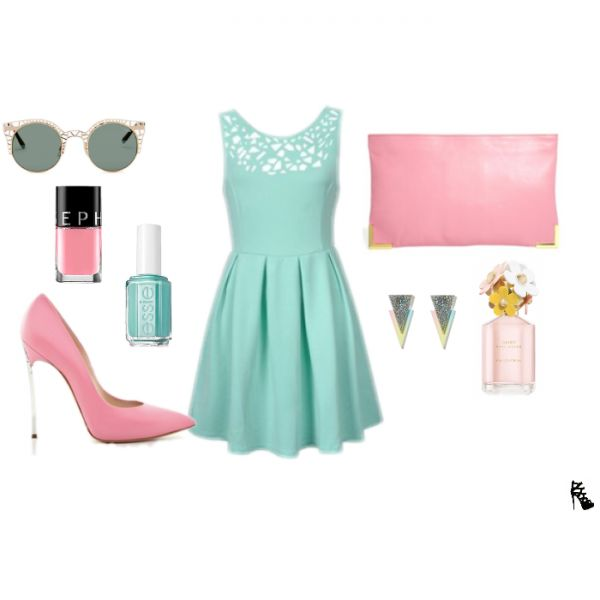 This Pastel Outfit Will Make You Shine On Your Birthday | Outfits For A Birthday Party ...