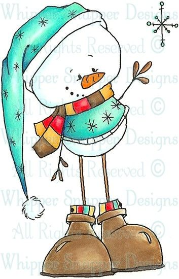 Beckham - Snowmen Images - Snowmen - Rubber Stamps - Shop