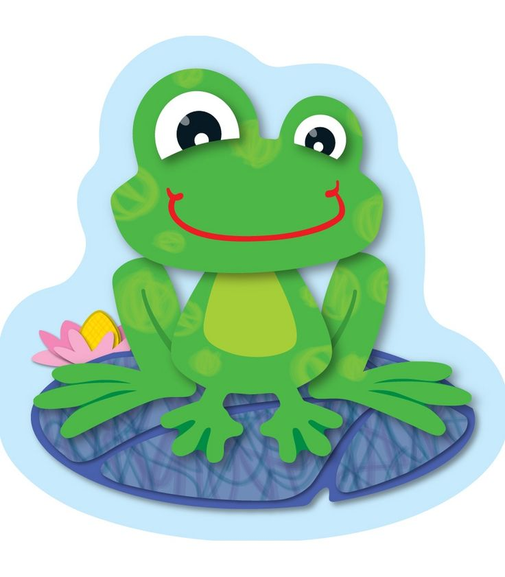 FUNky Frogs Mini Cut-Outs - Use for them for sorting activities, game pieces…