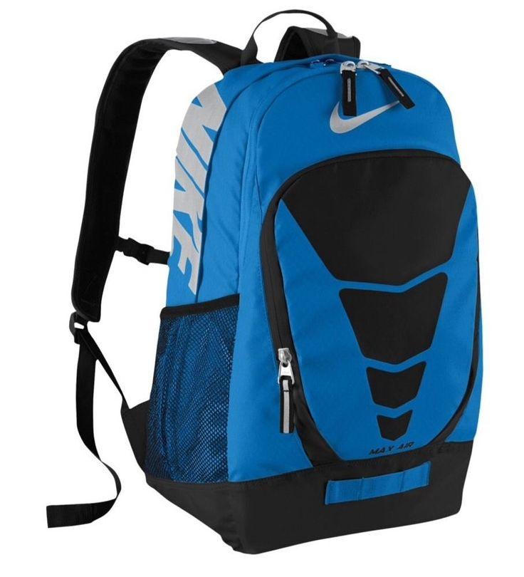 Nike Max Air Vapor Backpack BA4883-490  Blue/Black 34 Liters #Nike #Backpack