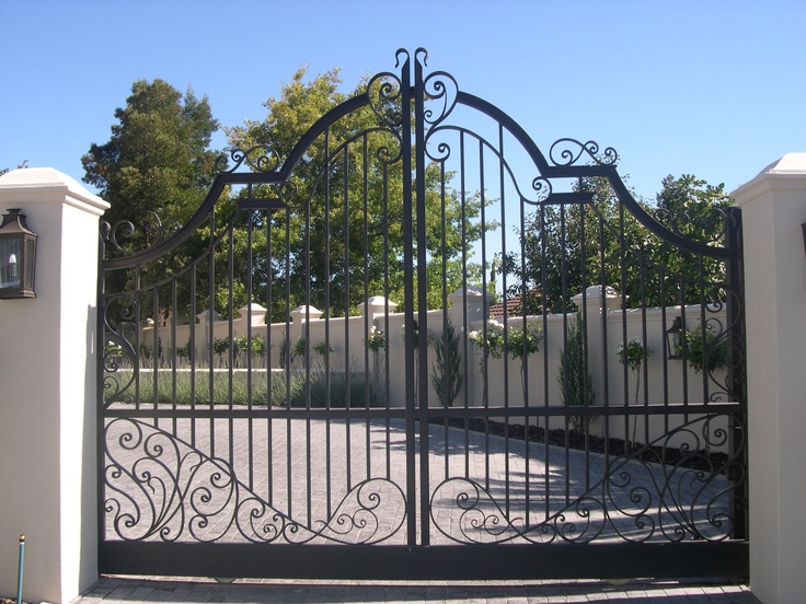 17 best images about wrought iron gates window bars on for Window gate design