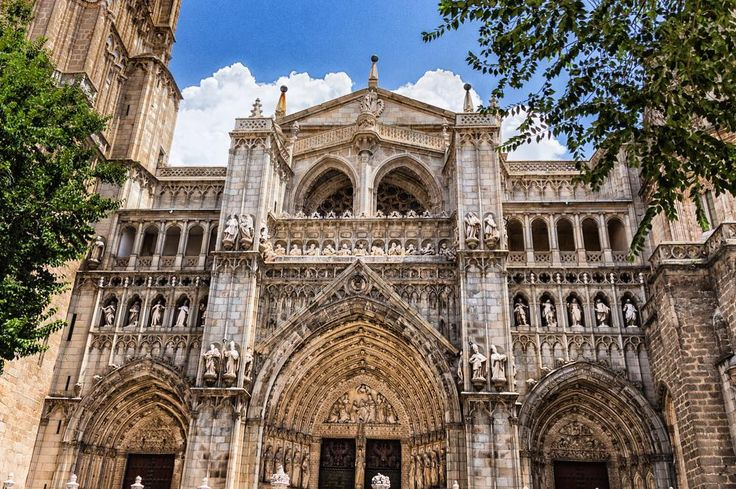 The cathedral of Toledo Spain.