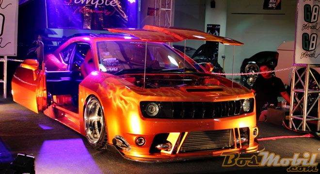 Naruto Raih Gelar King Of Bandung Car Modification Contest