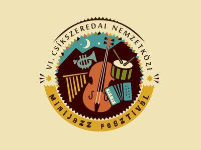 Minijazz - Szende Brassai: Logo Design, Logos Inspiration, Minis Jazzfesztiv, Minijazz Fesztiv, Jazz Festivals, Minis Jazzfestiv, Logos Designs, Vintage Logos, Designart Inspiration