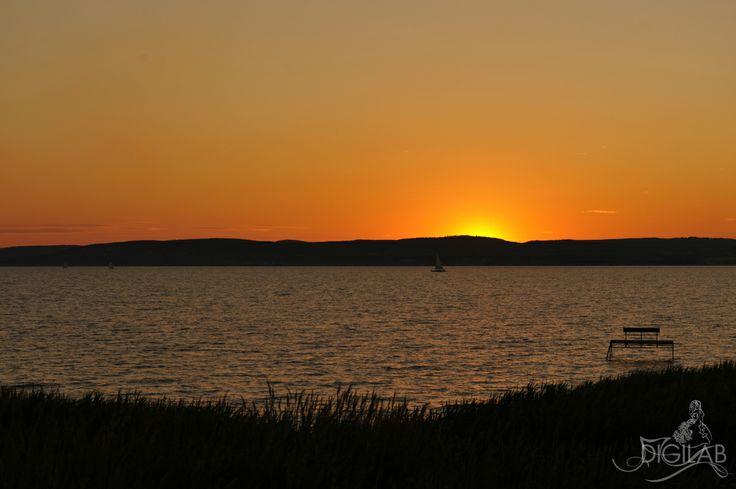 Balatoni naplemente, #sunset, #naplemente