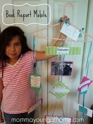 Hanger Mobile Book Report Book Report Projects Book