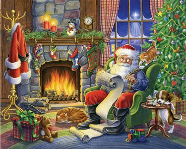 Naughty or Nice Jigsaw Puzzle | Vermont Christmas | Vermont Christmas Co. VT Holiday Gift Shop