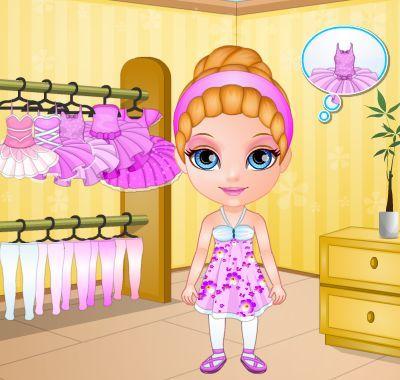 Baby Barbie ballet injury