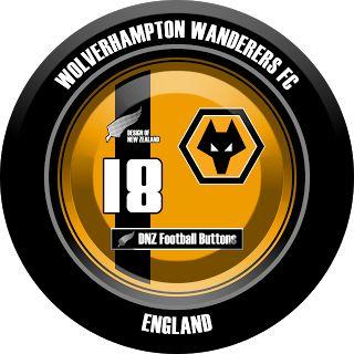 DNZ Football Buttons: Wolverhampton Wanderers FC