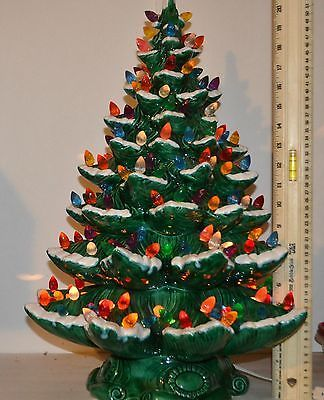 81 best Ceramic Christmas Trees images on Pinterest | Ceramic ...
