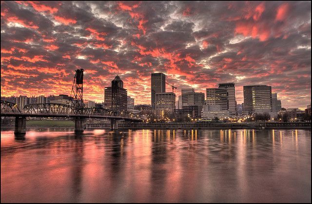 Portland, Oregon - no words, only this photograph which says why Portland will…