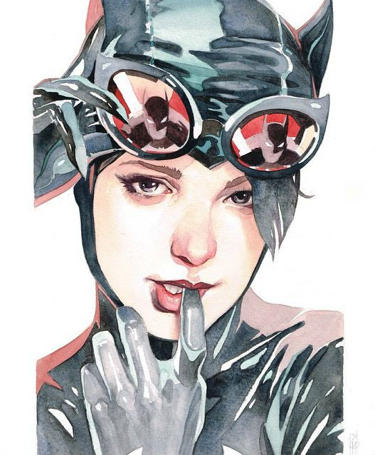 gotham-city-sirens-portrait-art-series-the-encounters by Garrie Gastonny and Elfandiary