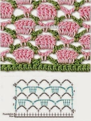 Best crochet stitches for your collection * 25 * ~ reasons for Crochet Patterns