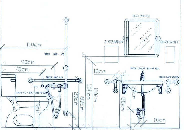 Alturas de accesorios de baño Bathroom Toilets Pinterest - plan cuisine restaurant normes