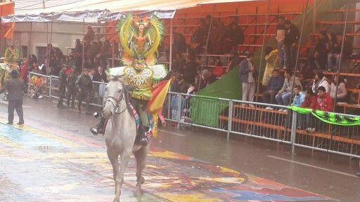 Imponente #Diablada boliviana, orureña.