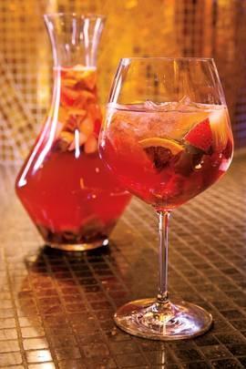 Sangria for expensive tastes. Hennessy Black Millionaires Sangria. Recipe!