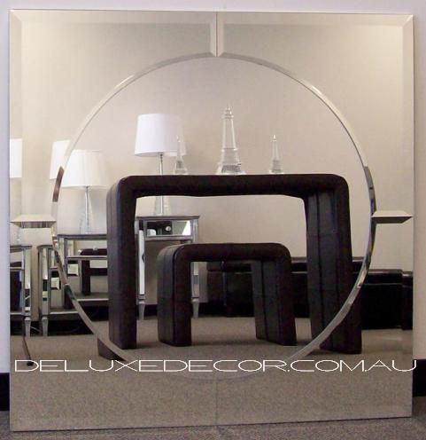 Bevelled Frameless Modern Square Wall Mirror 4537 (900 x 900 mm) http://deluxedecor.com.au/products-page/wall-mirrors/bevelled-frameless-modern-square-wall-mirror-4537-900-x-900-mm/