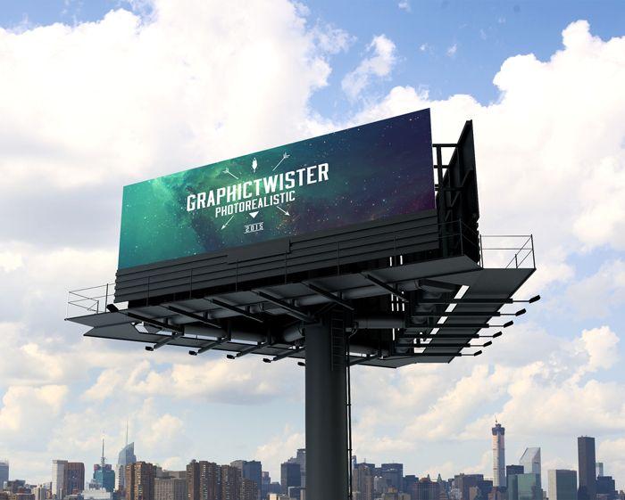 Triple Billboard Mockup | Premium and Free PSD Resources
