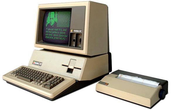 We had a computer at home like this.  I thought it was awesome!  Little did I know my phone would have a heck of a lot more power!!