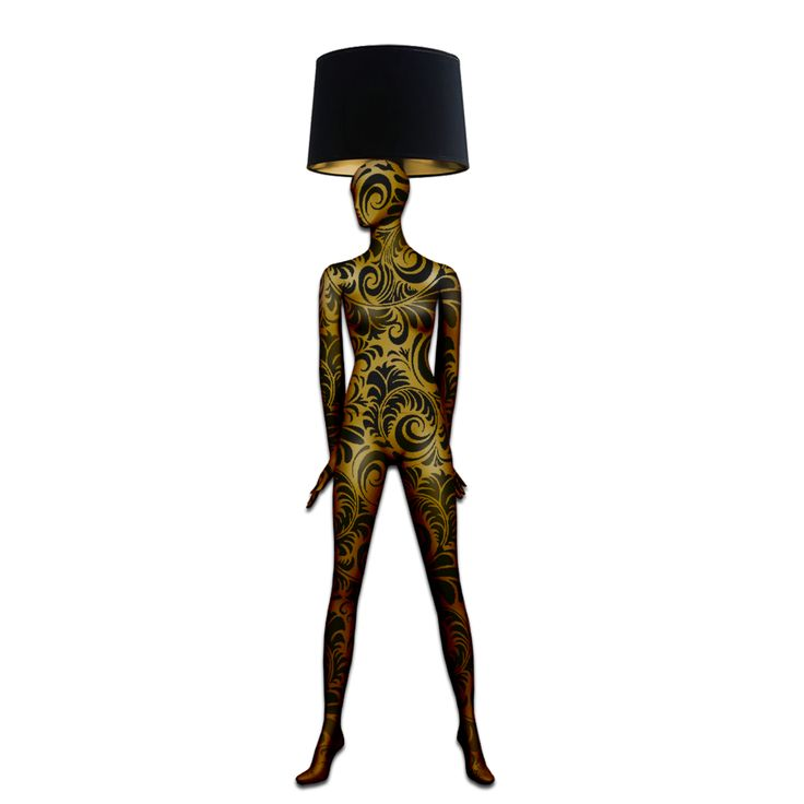 INFILUXE-Magestic Body Lamps- Post Modern Baroque Hand Painted Body Floor Lamp With Gold & Black Baroque Pattern. #baroque #baroquestyle #baroqueart #baroquelighting #newbaroque #modernbaroque #postmodern #postmodernart #designlight #designlighting #designlamp #mannequins #artlamp #interiorlighting #floorlamp #mannequinsinart #lightdesign #decoration #statementpiece #handpainted #interiorstyling #luxurylife #luxurylamp #luxurystyle #luxurylifestyle
