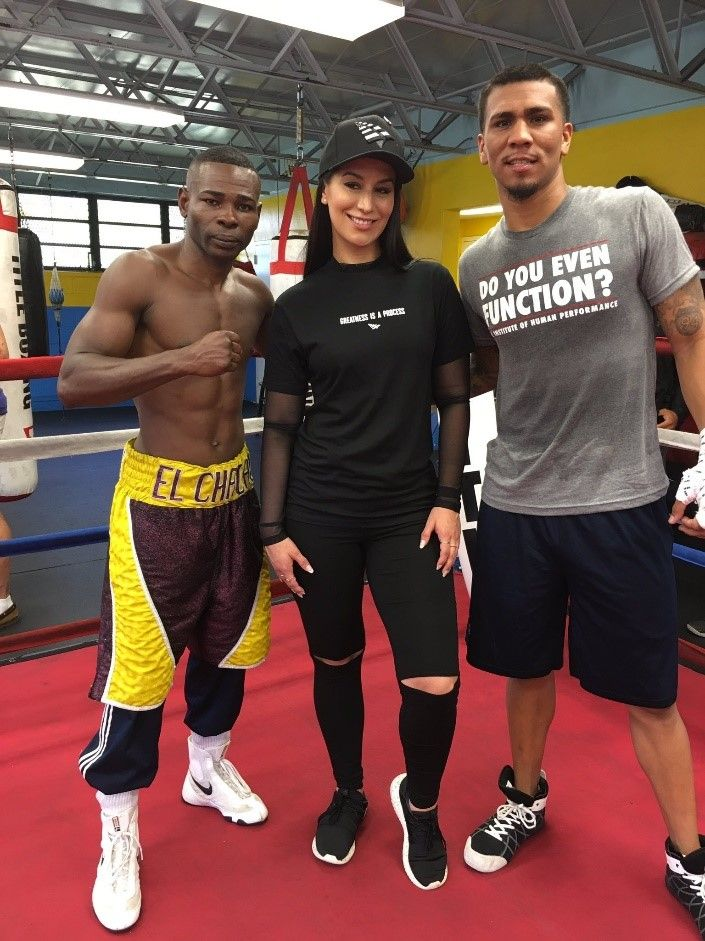 Guillermo Rigondeaux & Luis Arias Media Workout Quotes and Photos | REAL COMBAT MEDIA