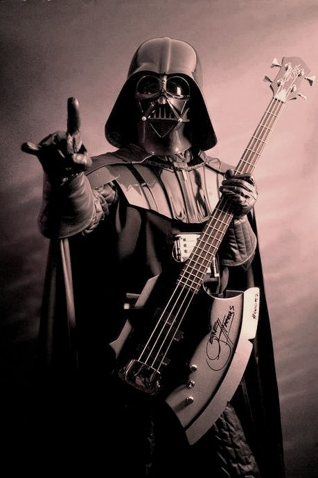 Darth Rock, muzik from the dark side