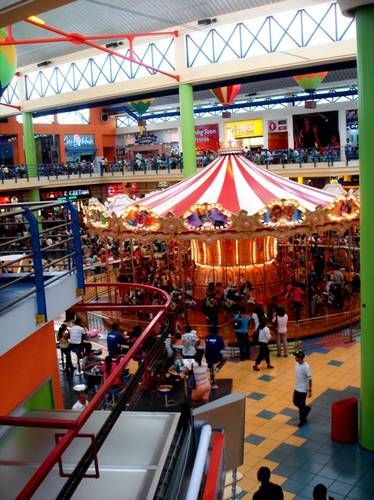Albrook Mall Panama City: The Albrook Mall in Panama City, located next to the Albrook Bus Terminal, is vast and packed with every kind of shopping, most of it inexpensive. The colorful Albrook Mall is practically an amusement park of delights, complete with carousel and giant animals. Its food courts are a great place to try Panama's fast food.