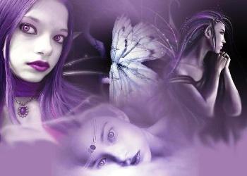 Things i love 27 pinterest free angel fairy wallpaper free purple fairy pixies angel wallpaper download the free purple voltagebd Gallery