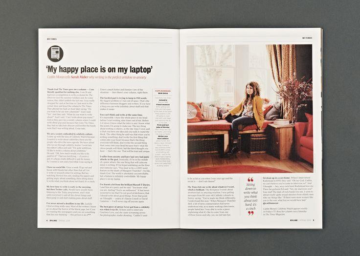 Byline Magazine | Design by S-T