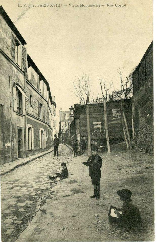 Le Maquis de Montmartre - Rue Cortot 18e