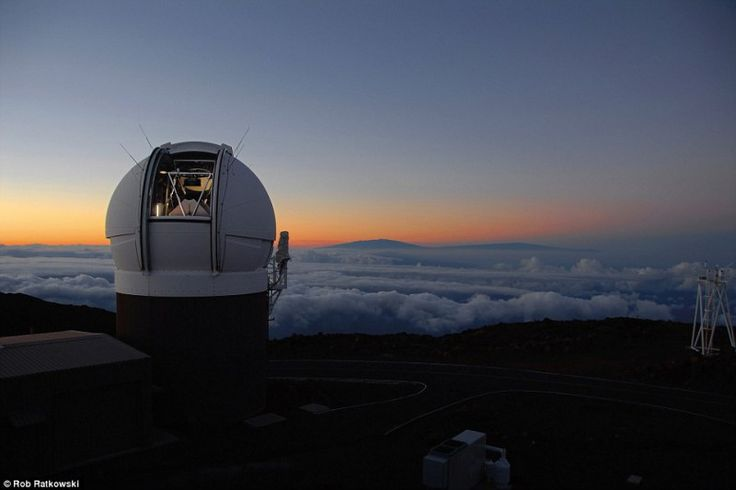 The map is the product of a project using a 6 foot (1.8 metre) telescope at the summit of the Haleakala volcano in Maui, Hawaii, which captured large images of the sky every 30 seconds for four years