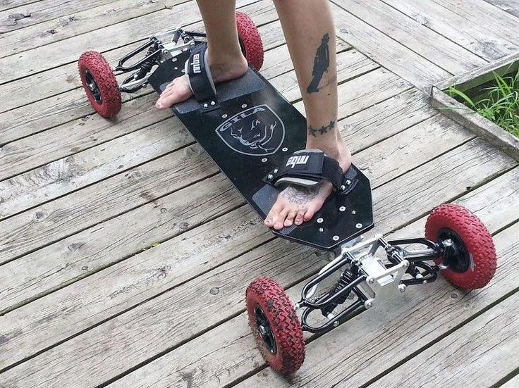 Off-Road Suspension Skateboards