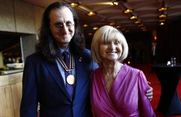 Geddy Lee and Mom, this is so sweet!
