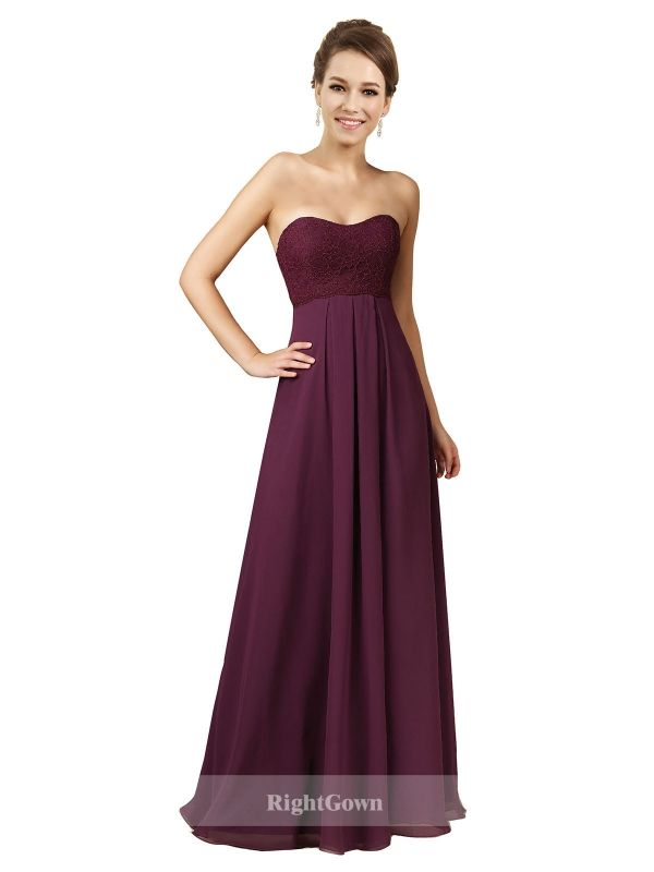 Cheap Right Gowns Summer 2018 Styles Long Chiffon Sweetheart Grape Strapless Bridesmaid Dresses 172012, Right Bridesmaid Dresses, Cheap Bridesmaid Dresses and Buy Discount Bridesmaid Dresses2018