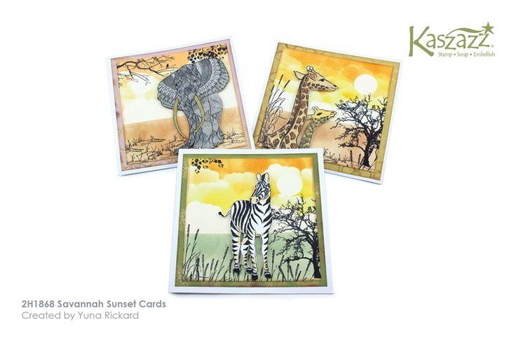 2H1868 Savannah Sunset Cards