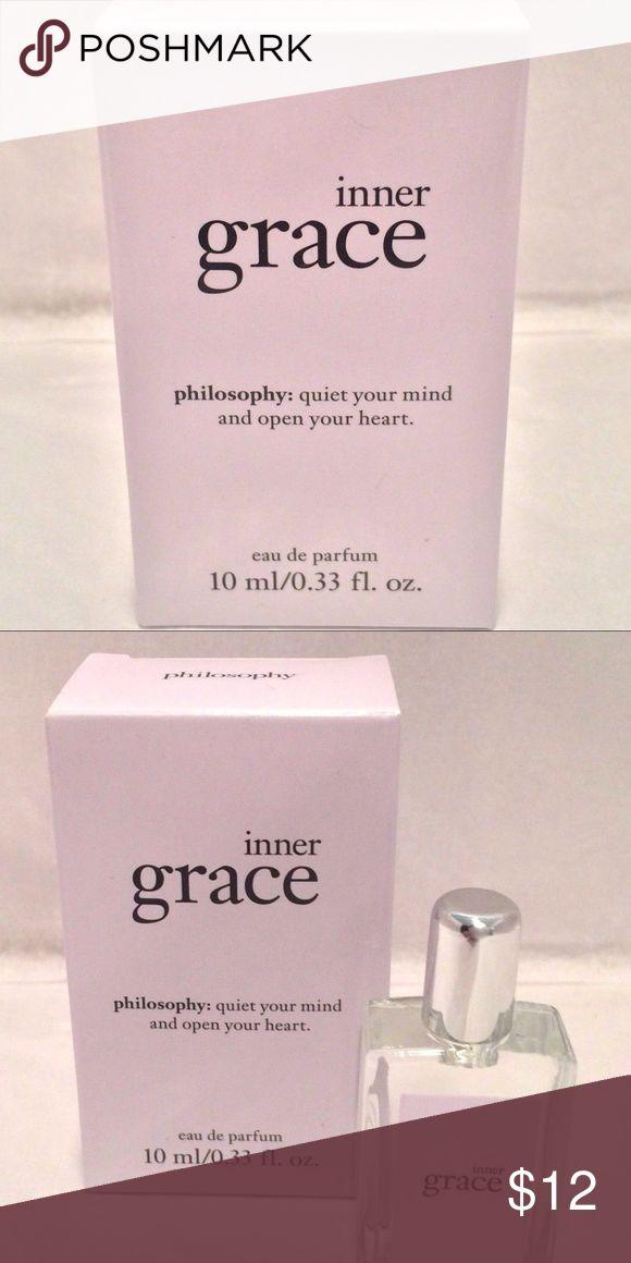 Philosophy Inner Grace Philosophy: quiet your mind and open your heart. eau de parfum 10ml/0.33 fl.oz. Philosophy Other