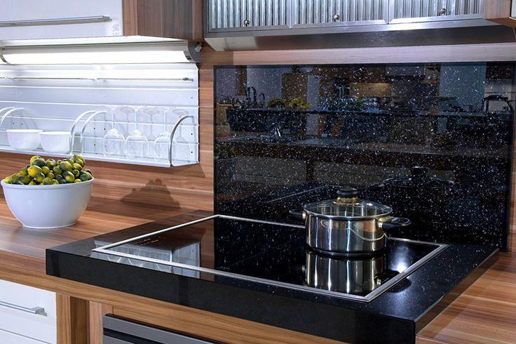 oltre 25 fantastiche idee su glasrückwand küche su pinterest ... - Glasrückwand Küche Beleuchtet