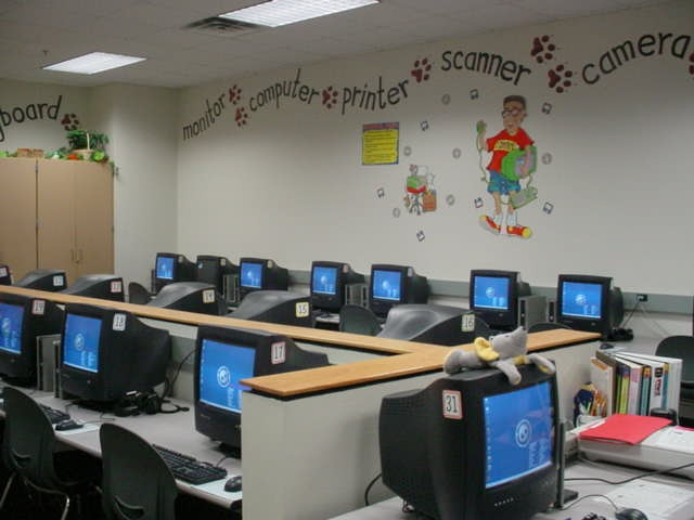 Computer Classroom Decoration ~ Best computer lab bulletin boards images on pinterest