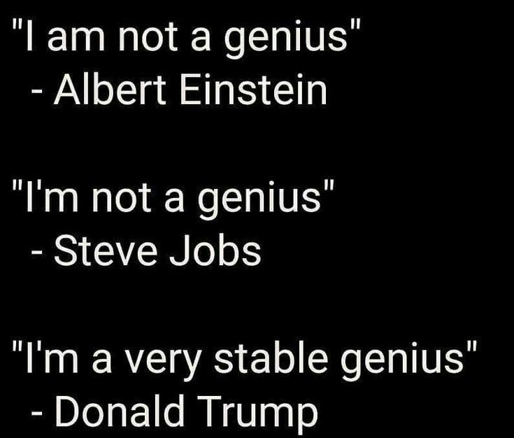 Hahahahahahahahahahaha. Only fucking idiots have to tell you how smart they are.