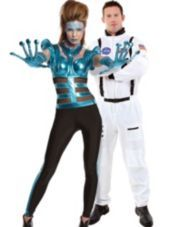 Supernova and Astronaut Couples Costumes - Party City For Dan & Me! LOL #halloween #partycity