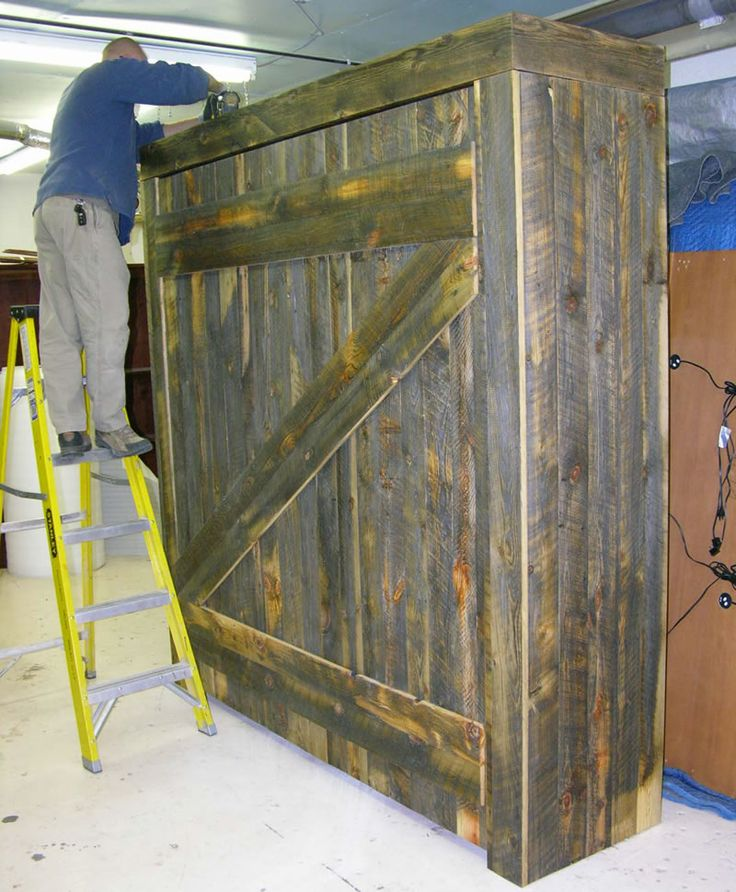 Best 25 rustic murphy beds ideas on pinterest diy for Diy rustic bunk beds
