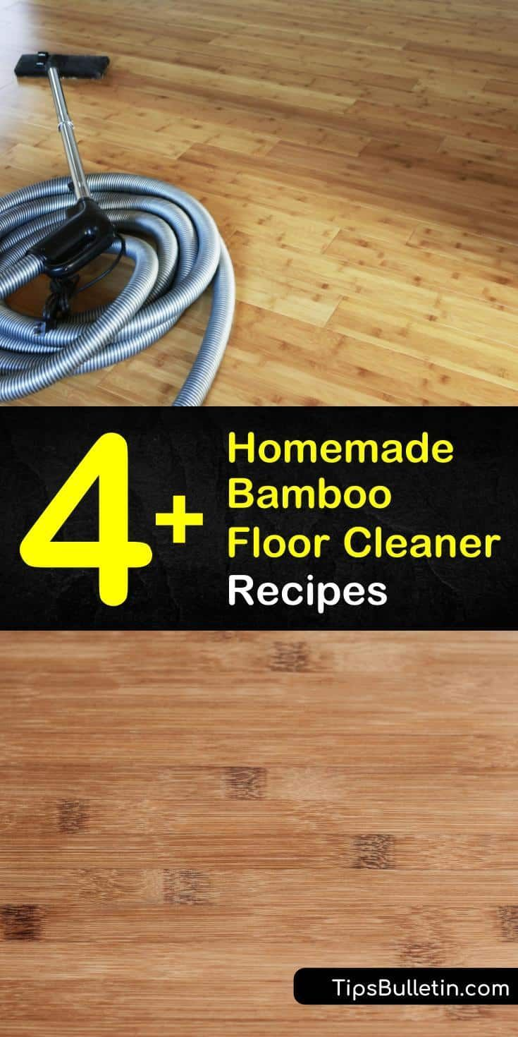 4 Easy To Make Bamboo Floor Cleaner